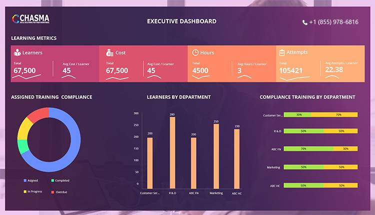 Chasma Power BI - Executive Dashboard